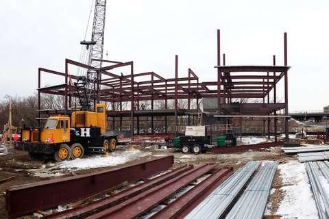 Star Pointe in Burtonsville, MD under construction