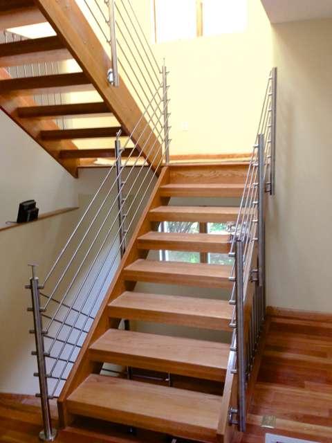 Rockville House interior staircase