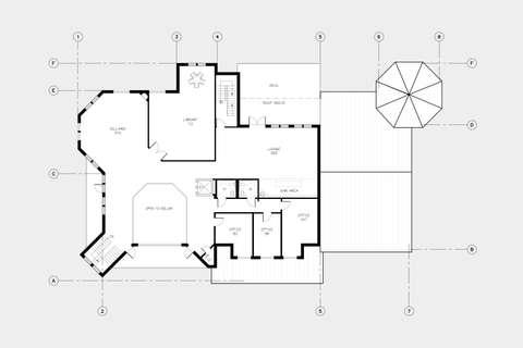 Cascade Estates Recreation Center Second Floor plan