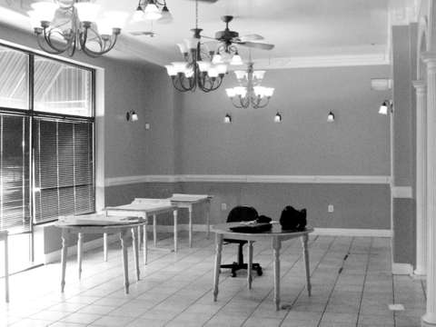 Nostalgia Bistro in Rockville, MD main dining area under construction