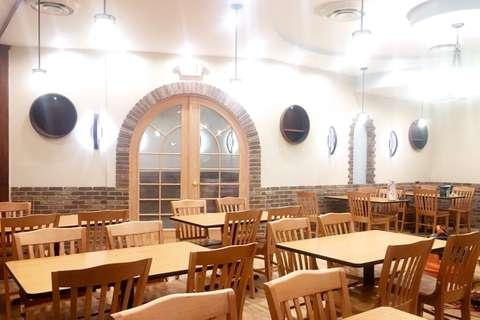 Troika Restaurant main dining area