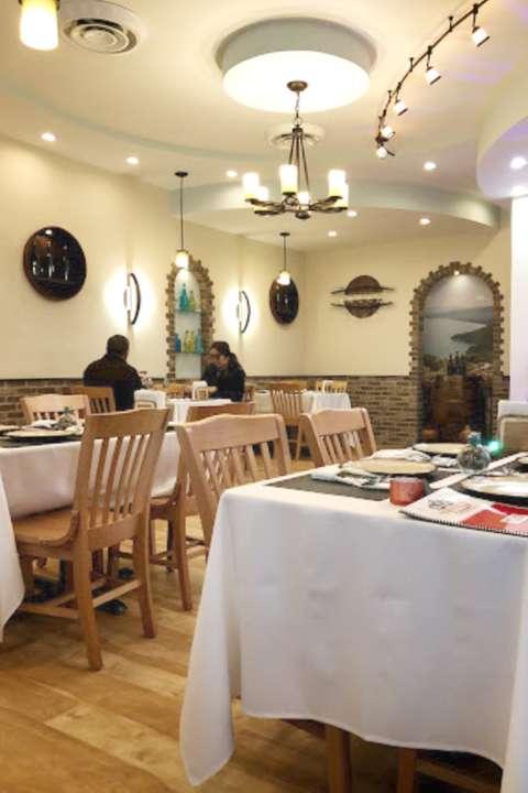 Troika main dining area