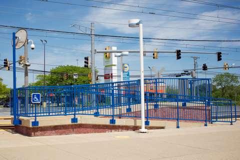 MTA Cromwell Light Rail station in Glen Burnie, MD