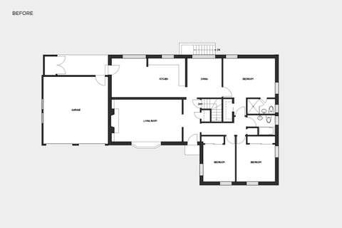 Arlington House before plan