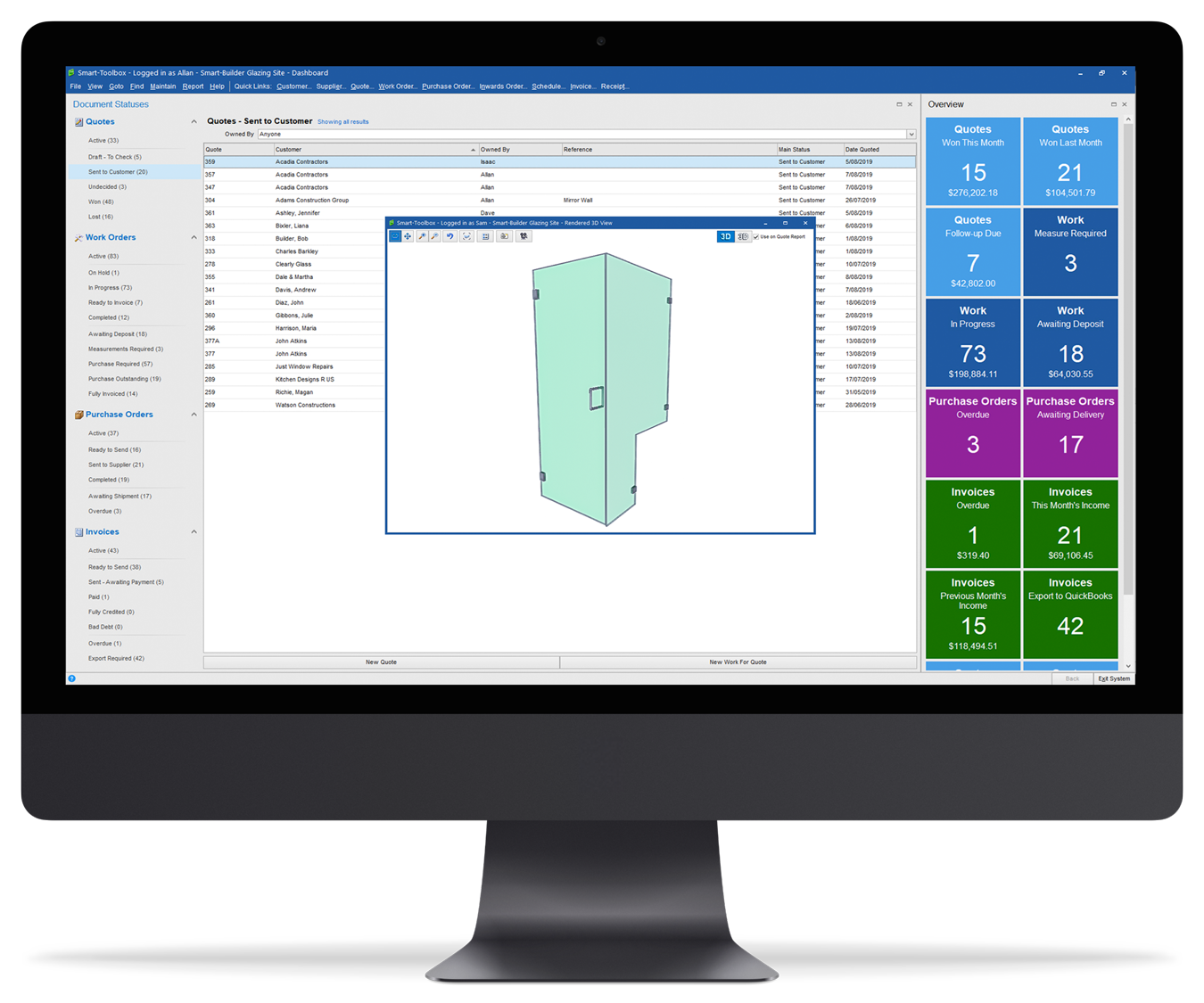 Smart Toolbox - The best glass software for glass installers