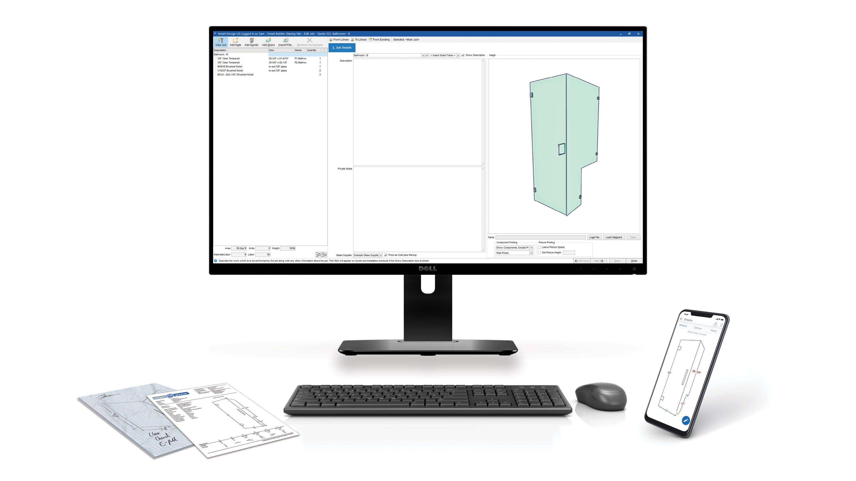Smart-Glass Enterprise - Fabrication Estimating Software
