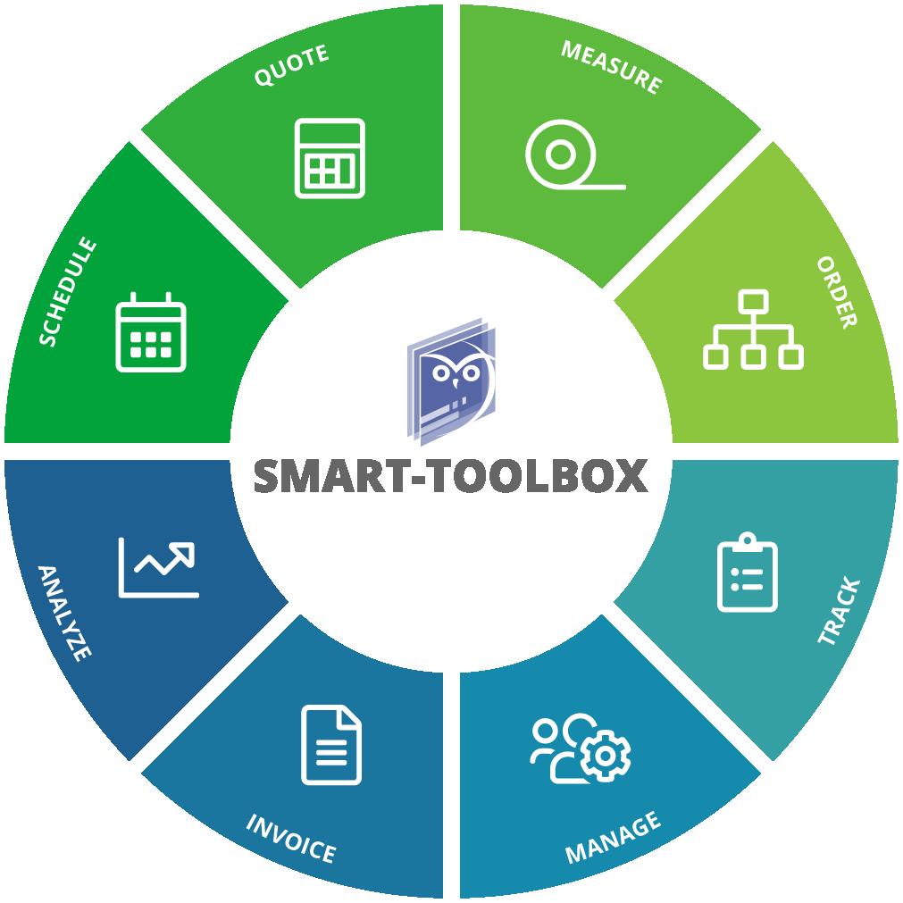 Glass installer software - Smart Toolbox