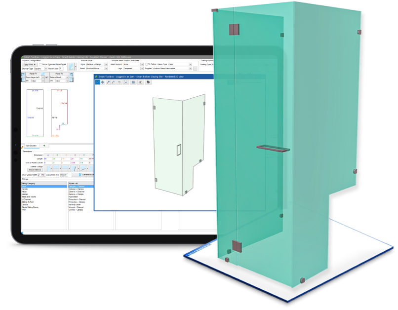 smart shower - a powerful 3d shower design tool
