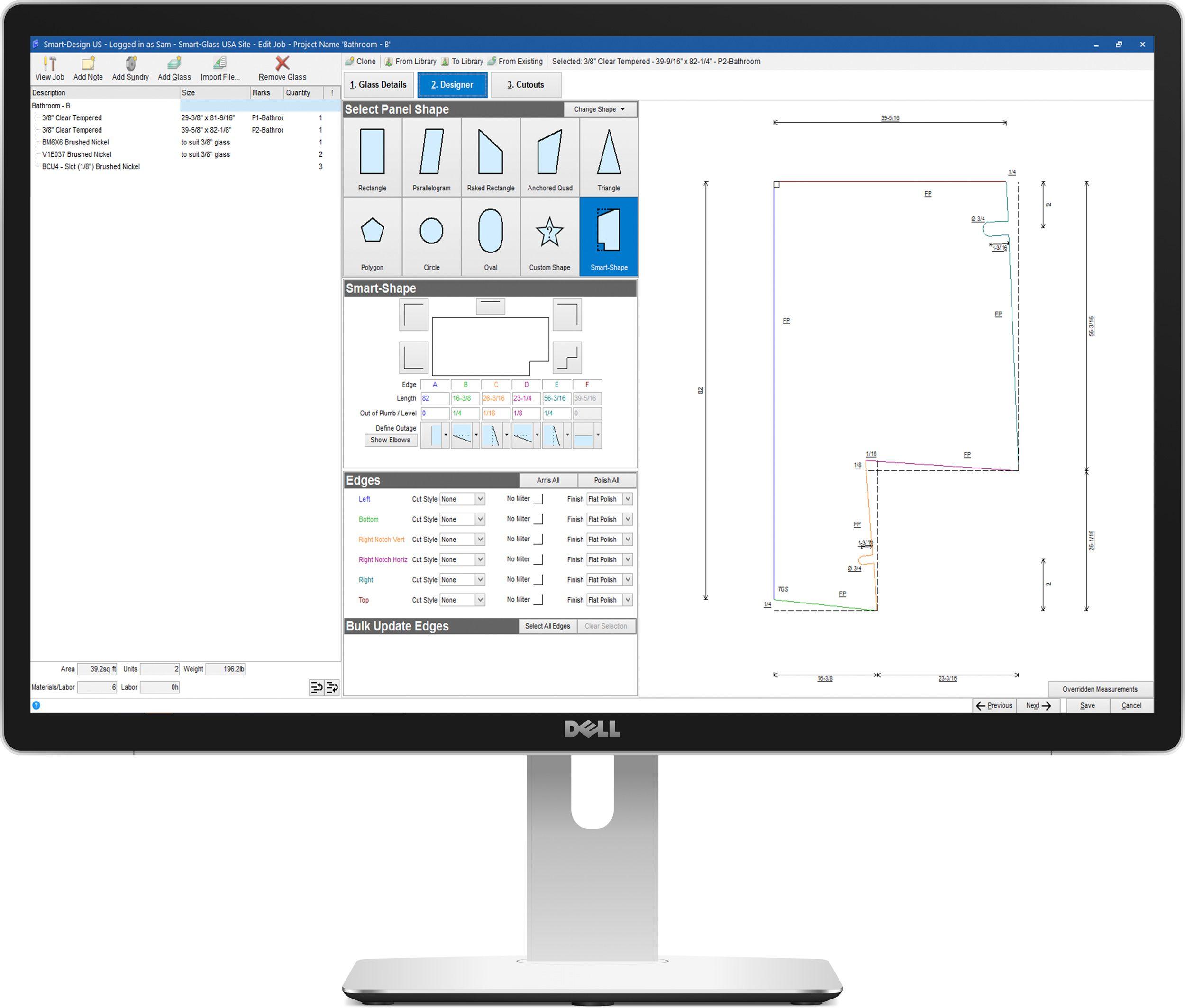Smart-Glass Enterprise - Drawing tool
