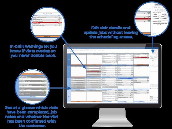 Glass Shop Management Software - job scheduling