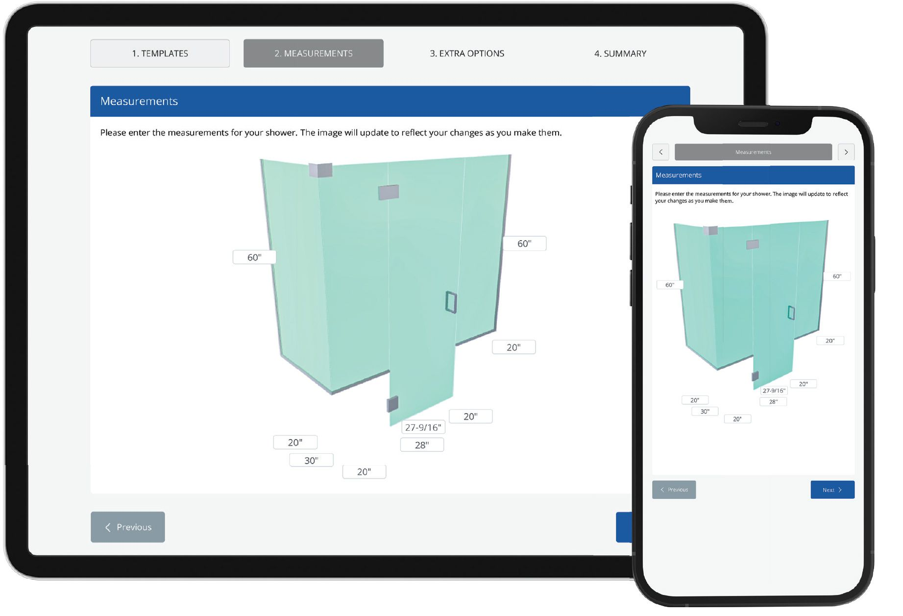 Glass shop management Software - Works on iPad