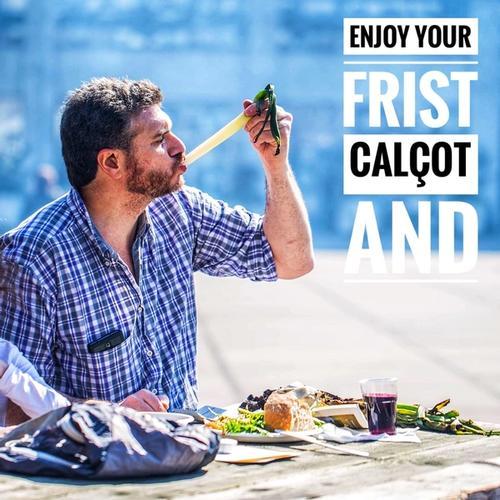 Enjoy Your First Calçot And