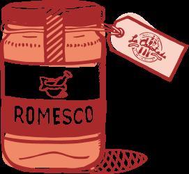Romesco salsa - La Calçotada.