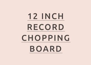 12 Inch Chopping Board Text Image