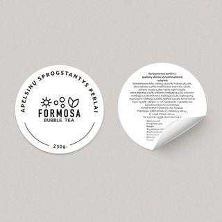 Formosa Bubble Tea Stickers