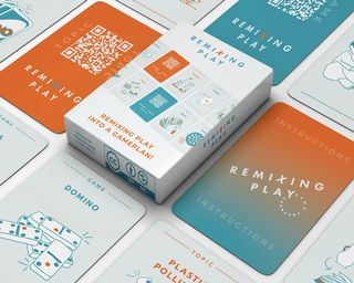REMIXING PLAY GAME Cards & Packaging