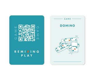REMIXING PLAY GAME Cards Blue
