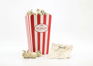 Movie Popcorn Bucket List With Popcorns