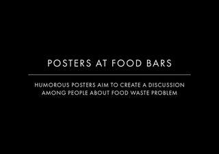 EXPERIMENTAL AD CAMPAIGN Food Bars