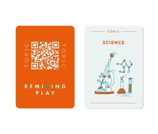 REMIXING PLAY GAME Cards Orange