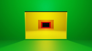 'EXPERIENCE THE COLOUR' EXHIBITION Tunnel