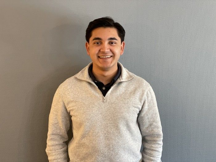 A picture of Omar Chaliss, ShiftX's newest Sales Development Representative (SDR)