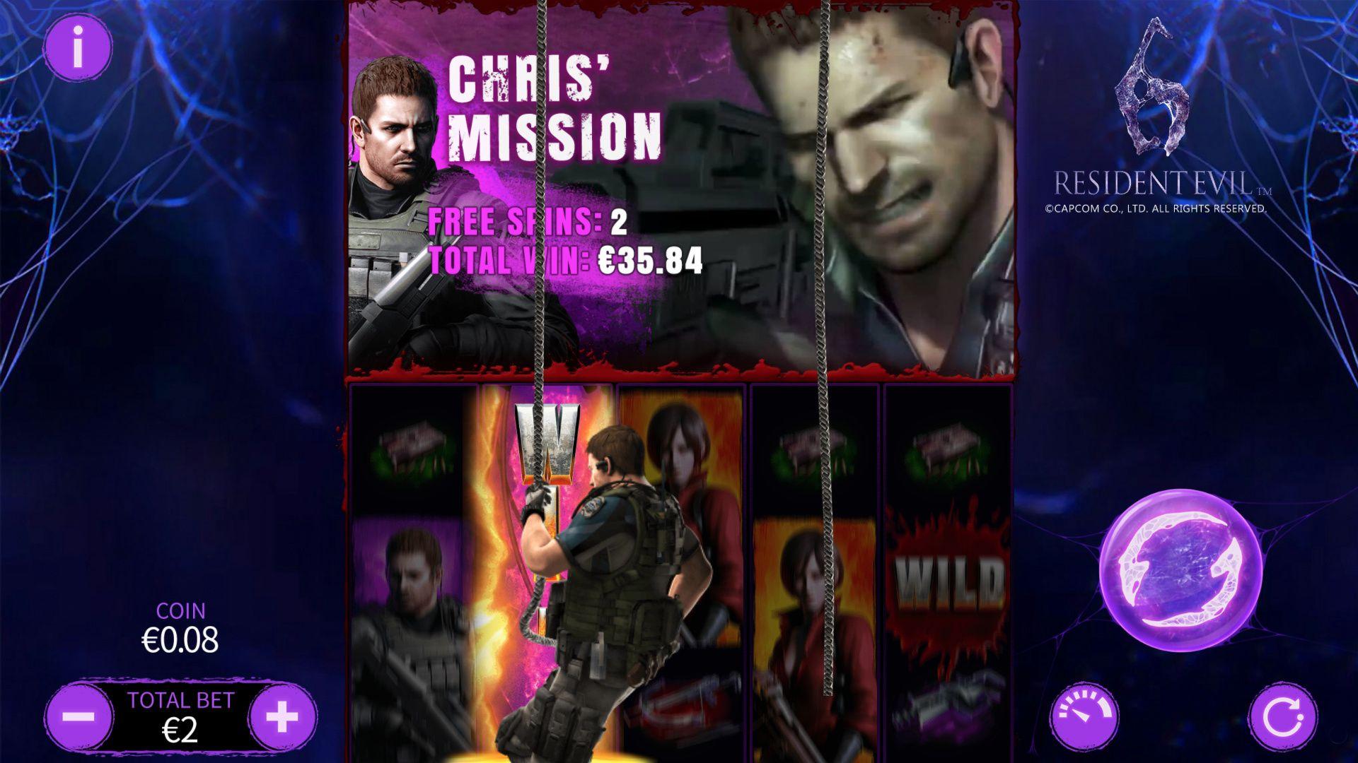 Chris's Mission: Rappel Expanding Wilds