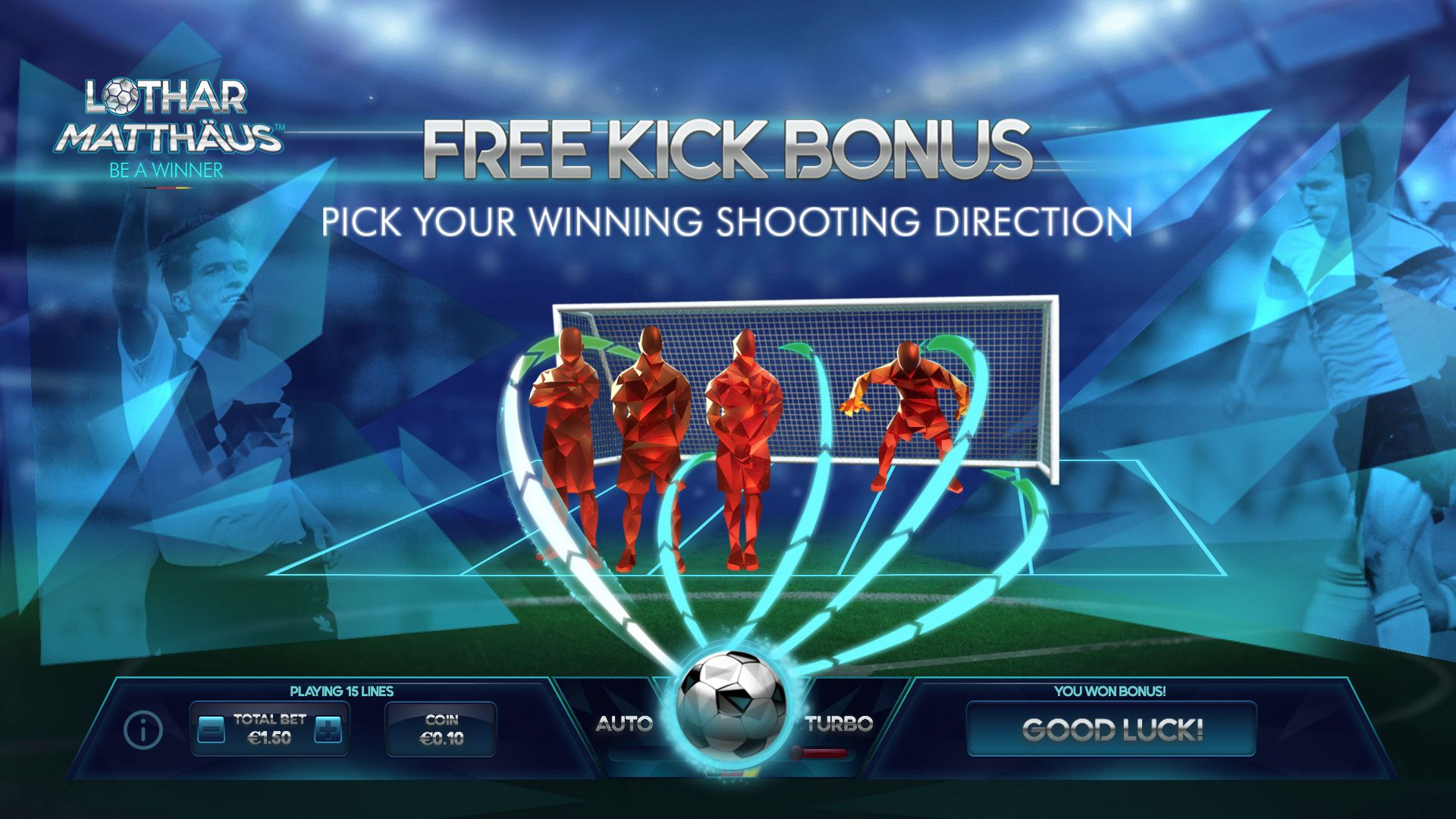 Free Kick Bonus