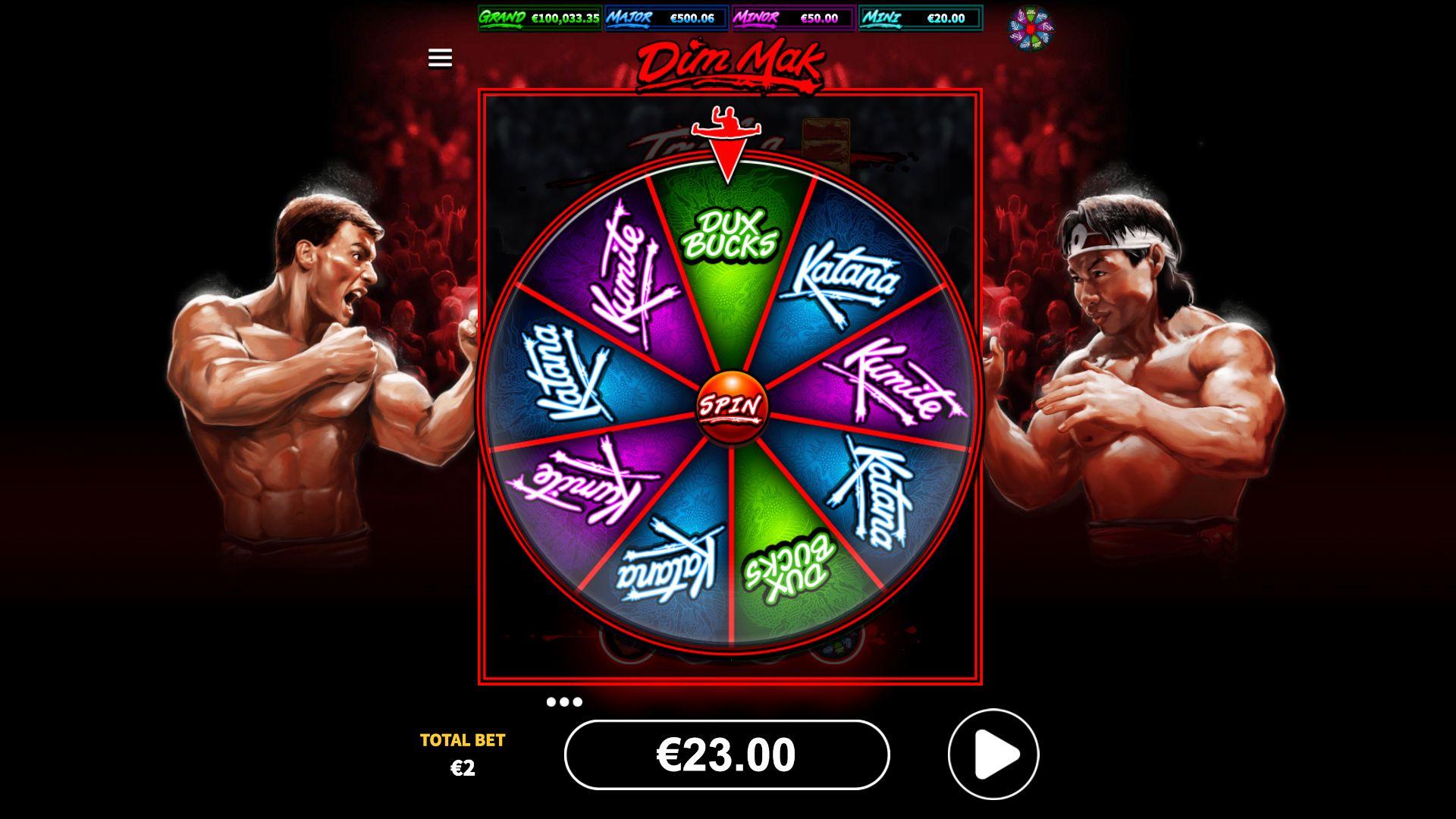Big Time Fight Wheel