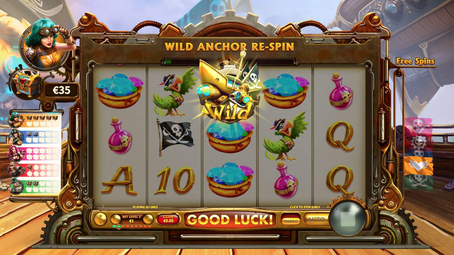 Wild Anchor Respin