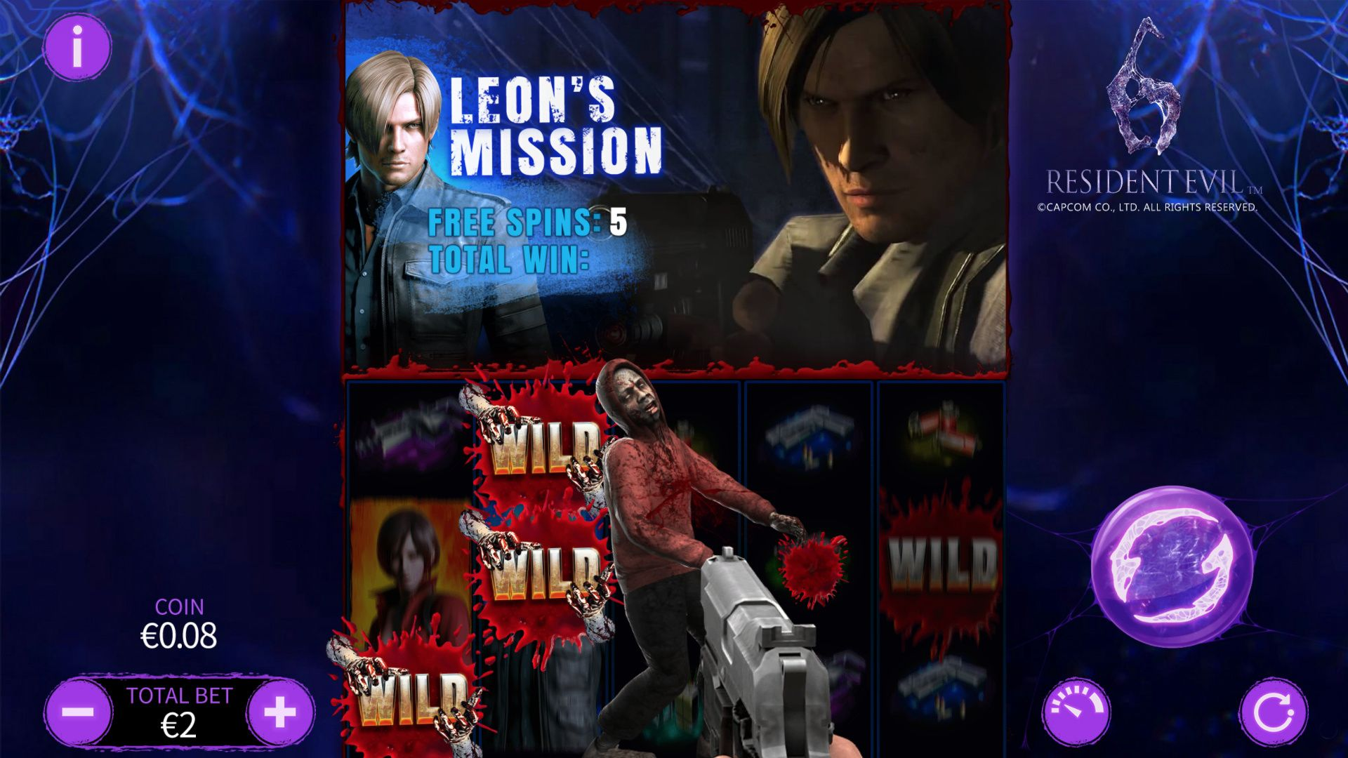 Leon's Mission: Sticky Wild Zombies