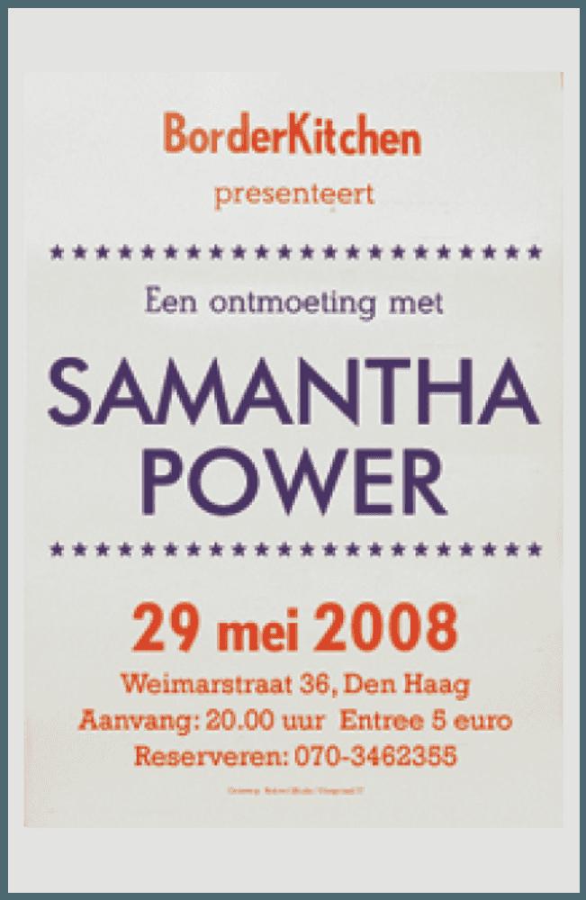 BorderKitchen Samantha Power