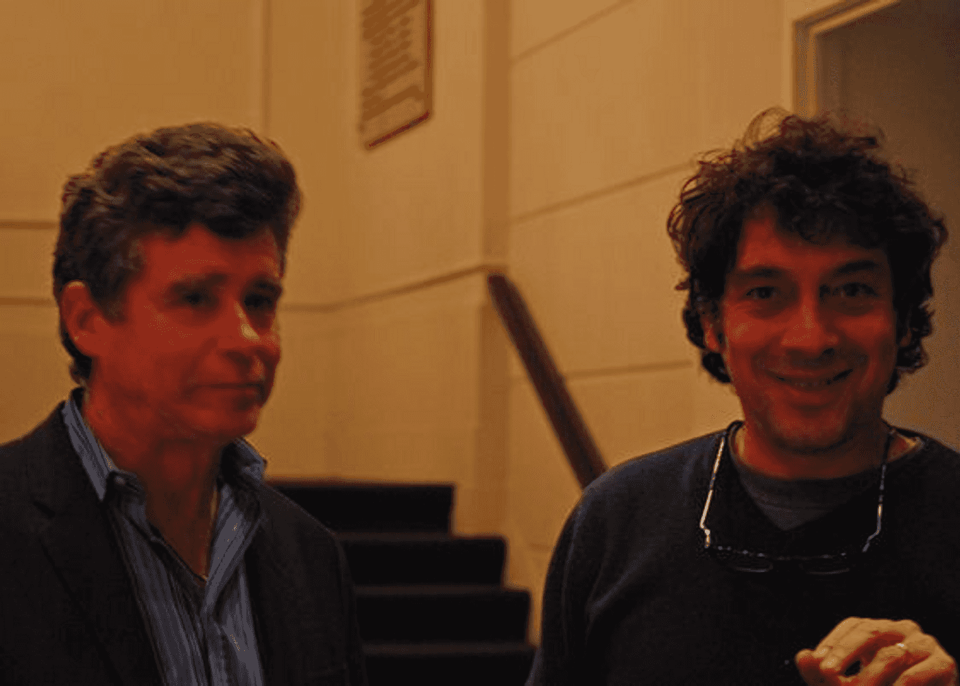 Jay McInerney & Sandro Veronesi