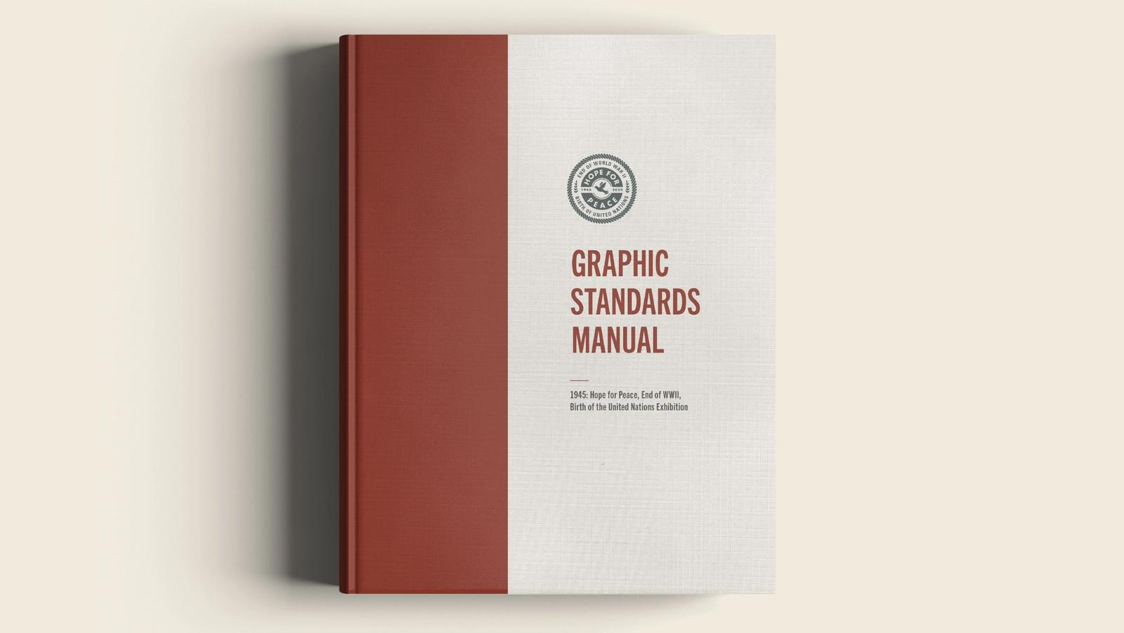 Hope for Peace // Graphic Standards Manual