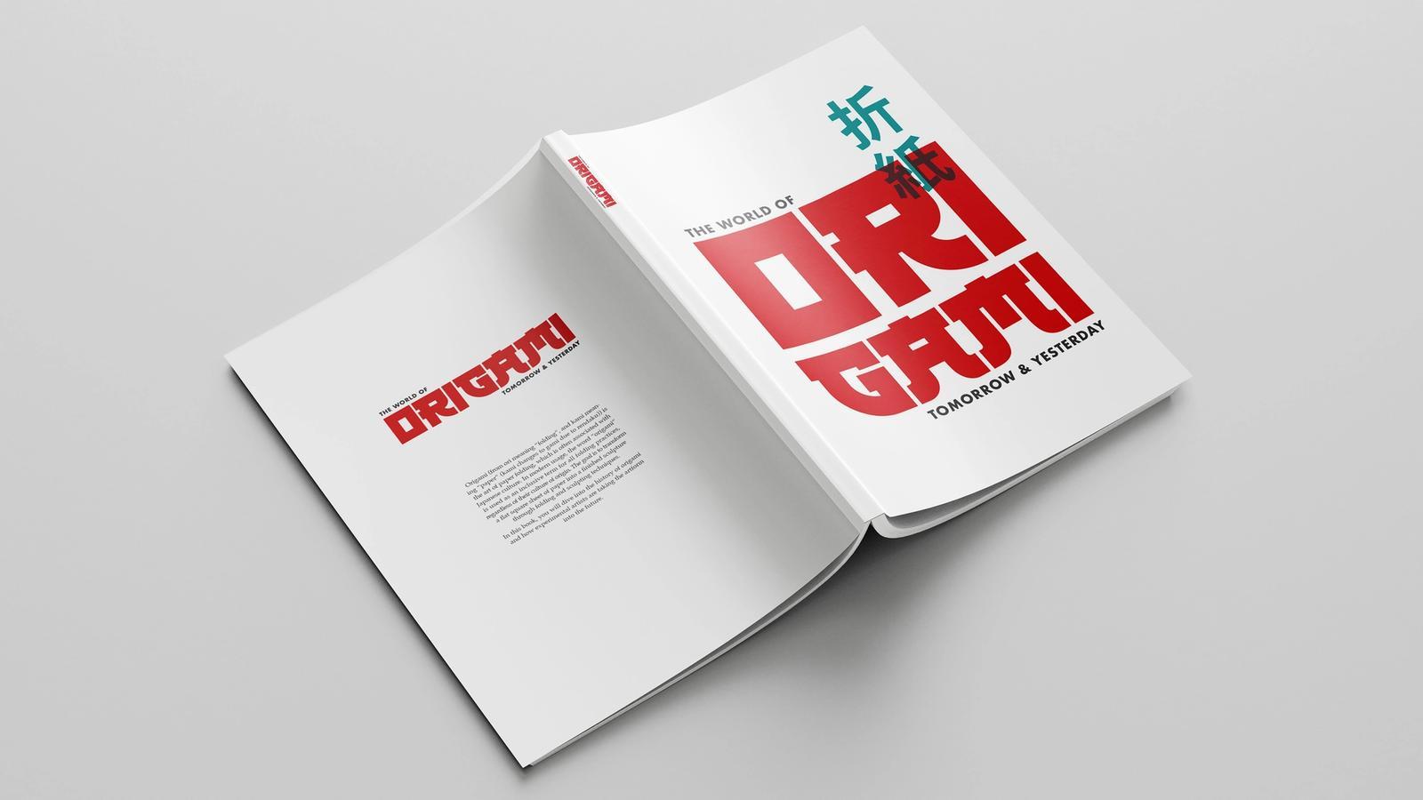 The World of Origami // Book Design