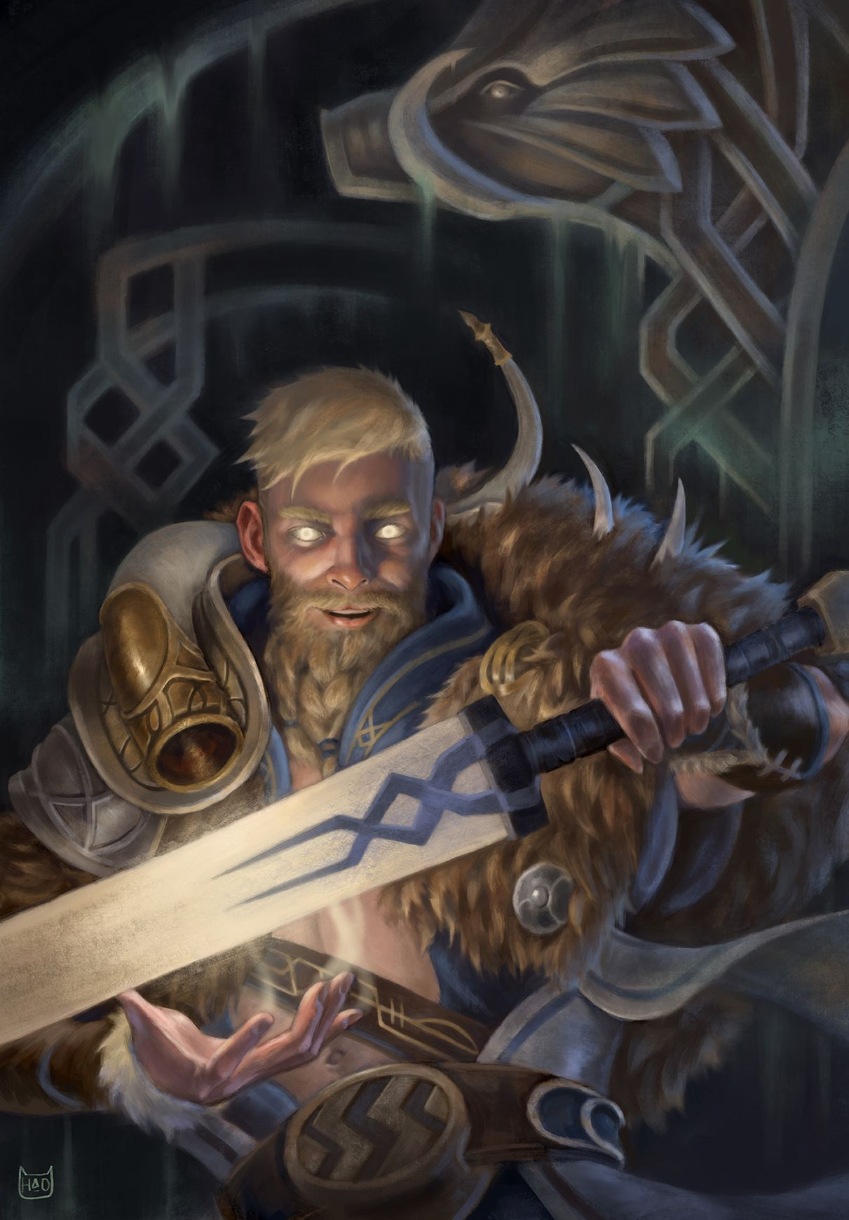 Freyr, the God of Prosperity