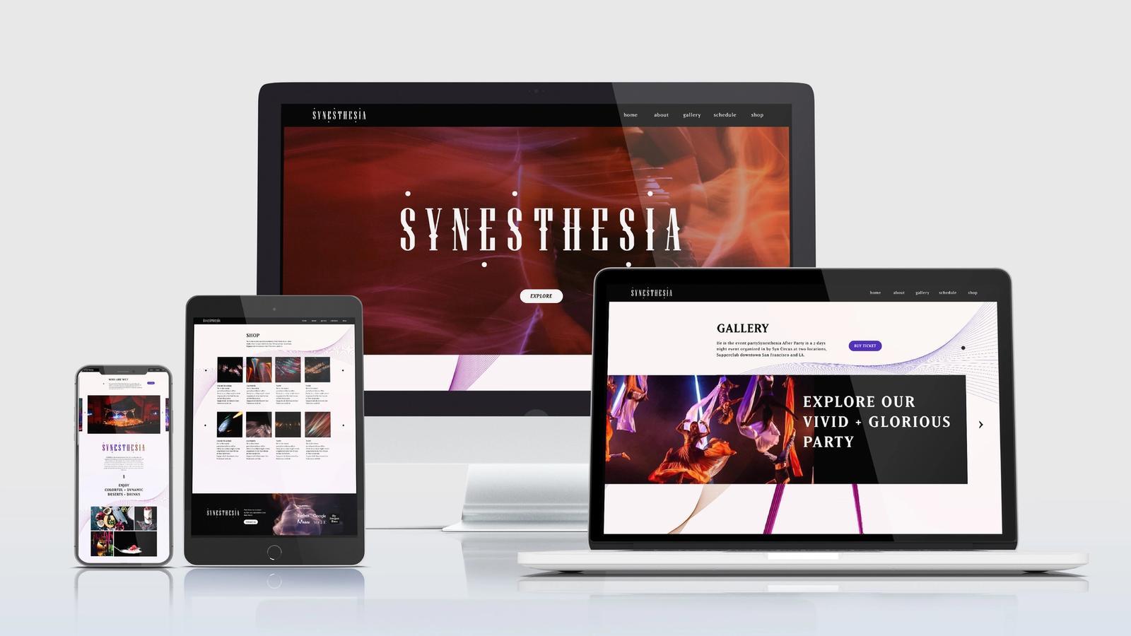 Synesthesia // Digital Presence