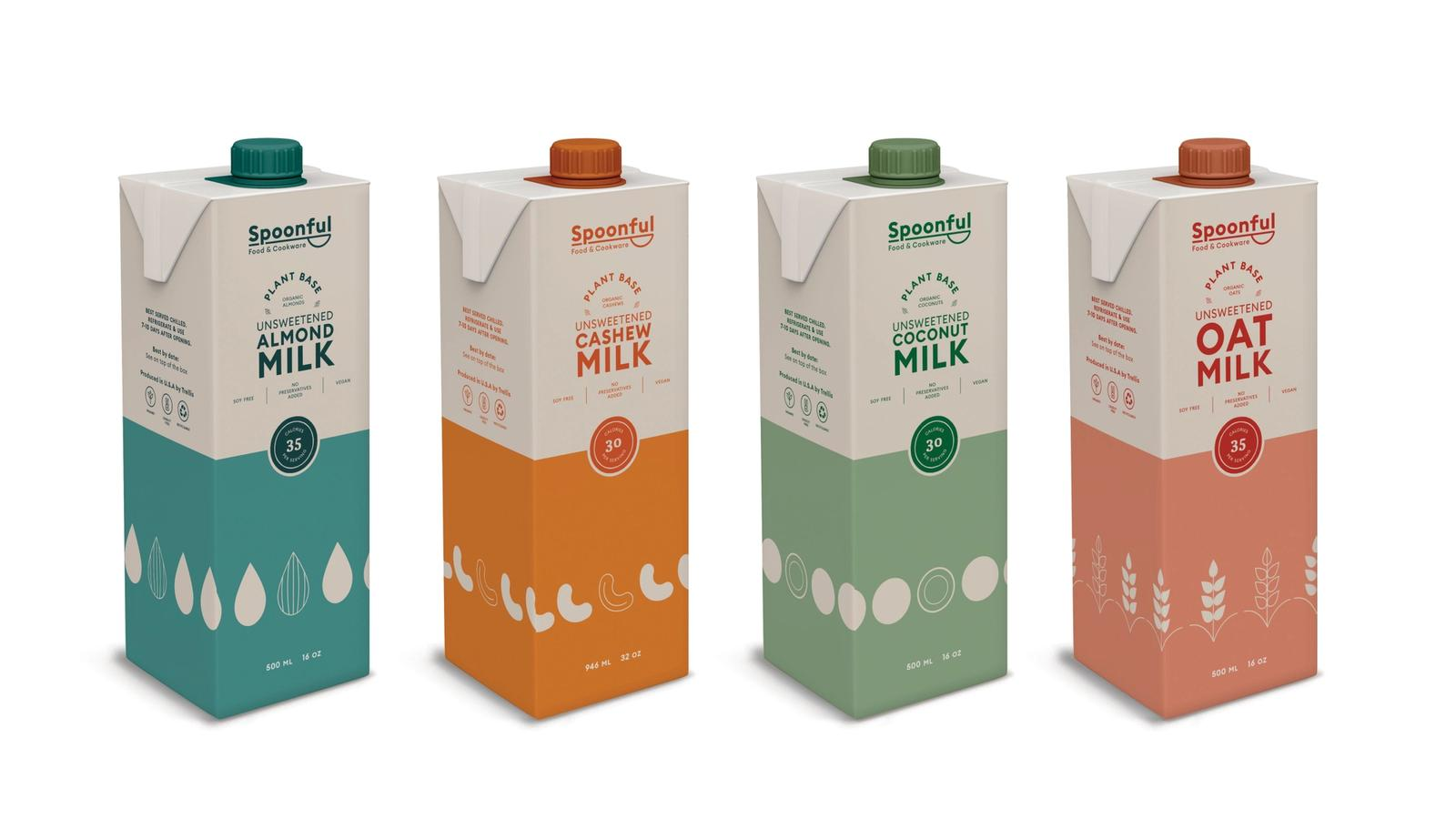Spoonful Milk // Product Packaging