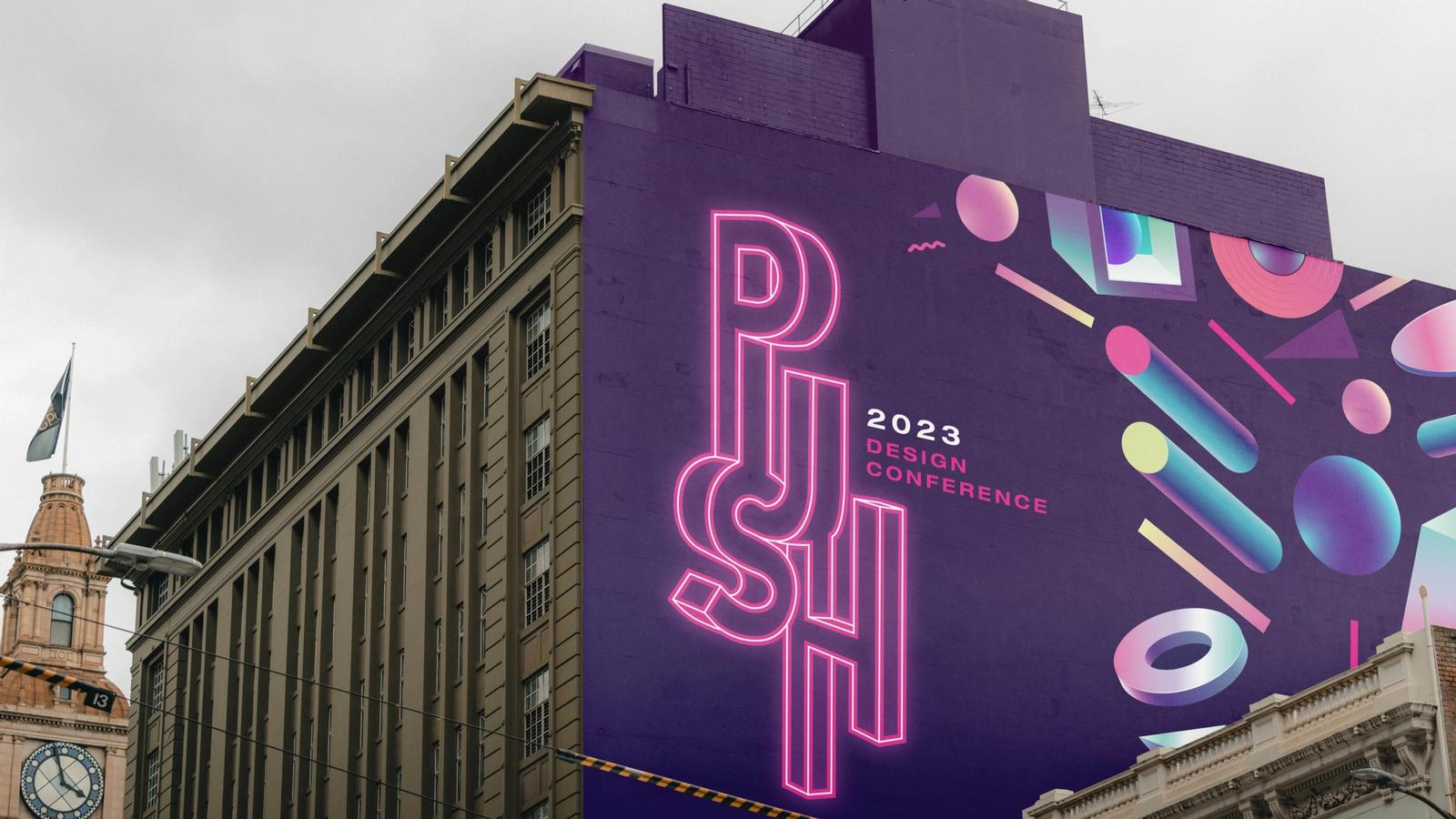 Push Conference // Environmental Design
