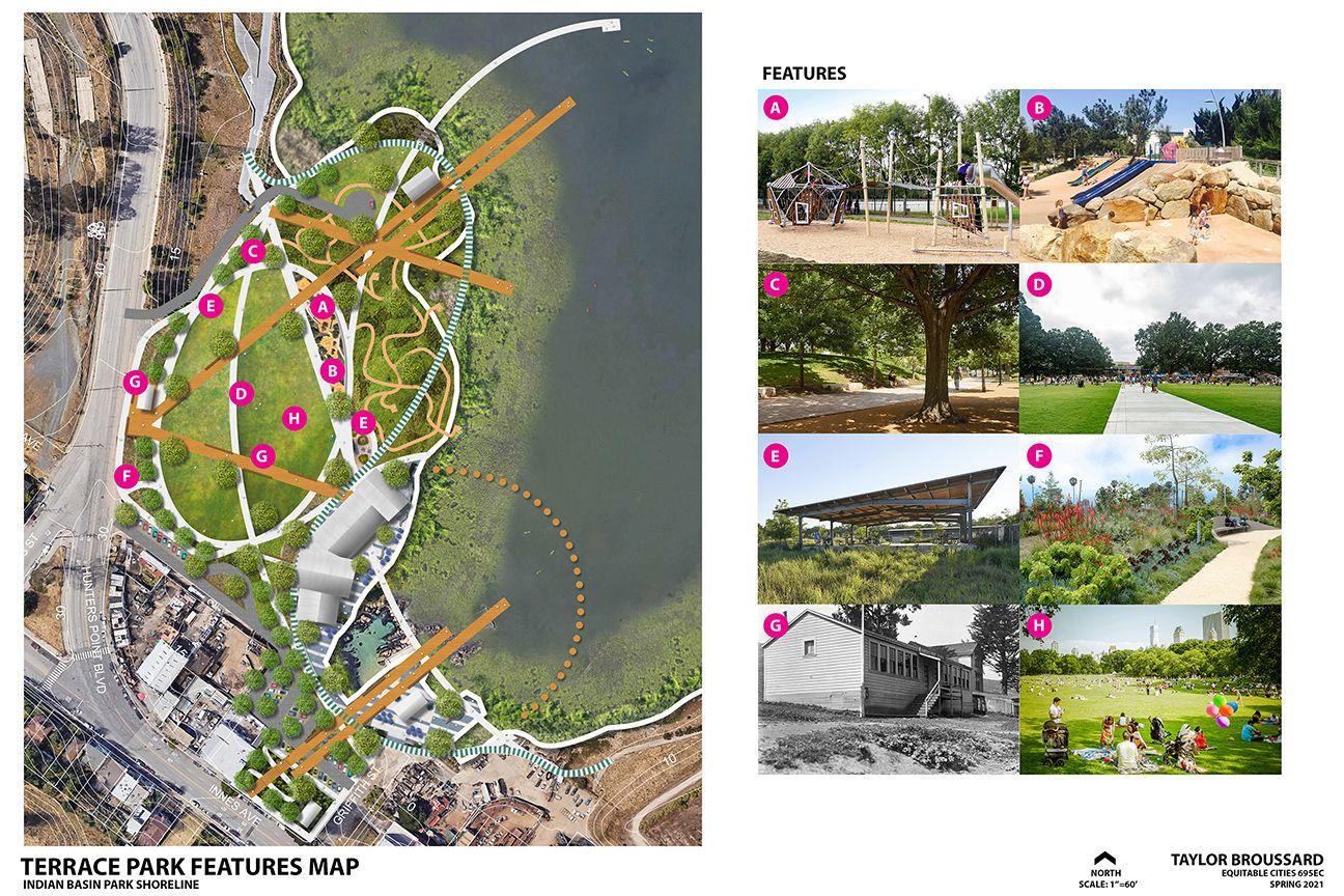 India Basin Park, San Francisco - Illustrative Site Plan Park Zone