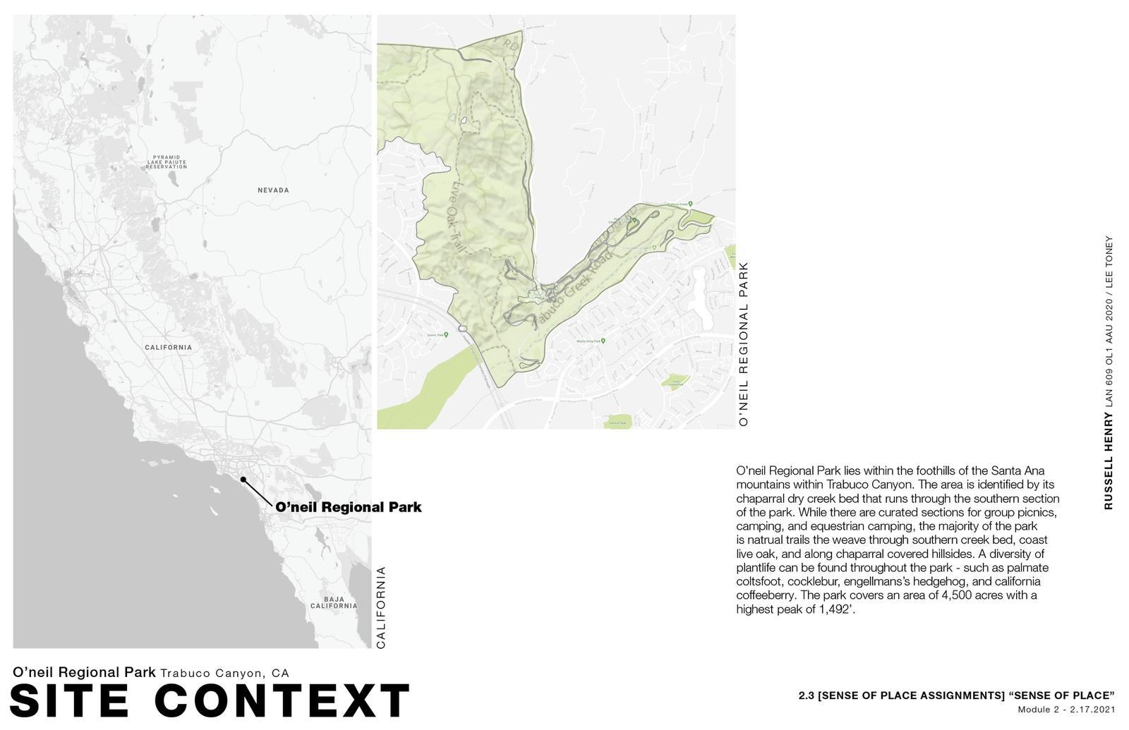 Sense of Place - Site Context