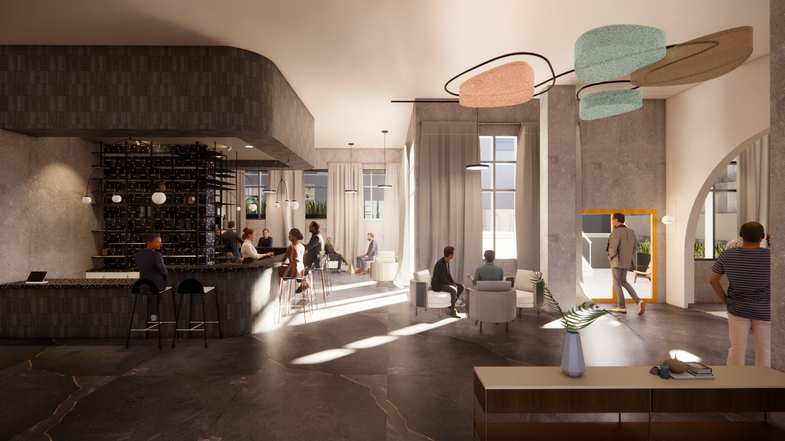 Hyphy Bar & lounge area 1