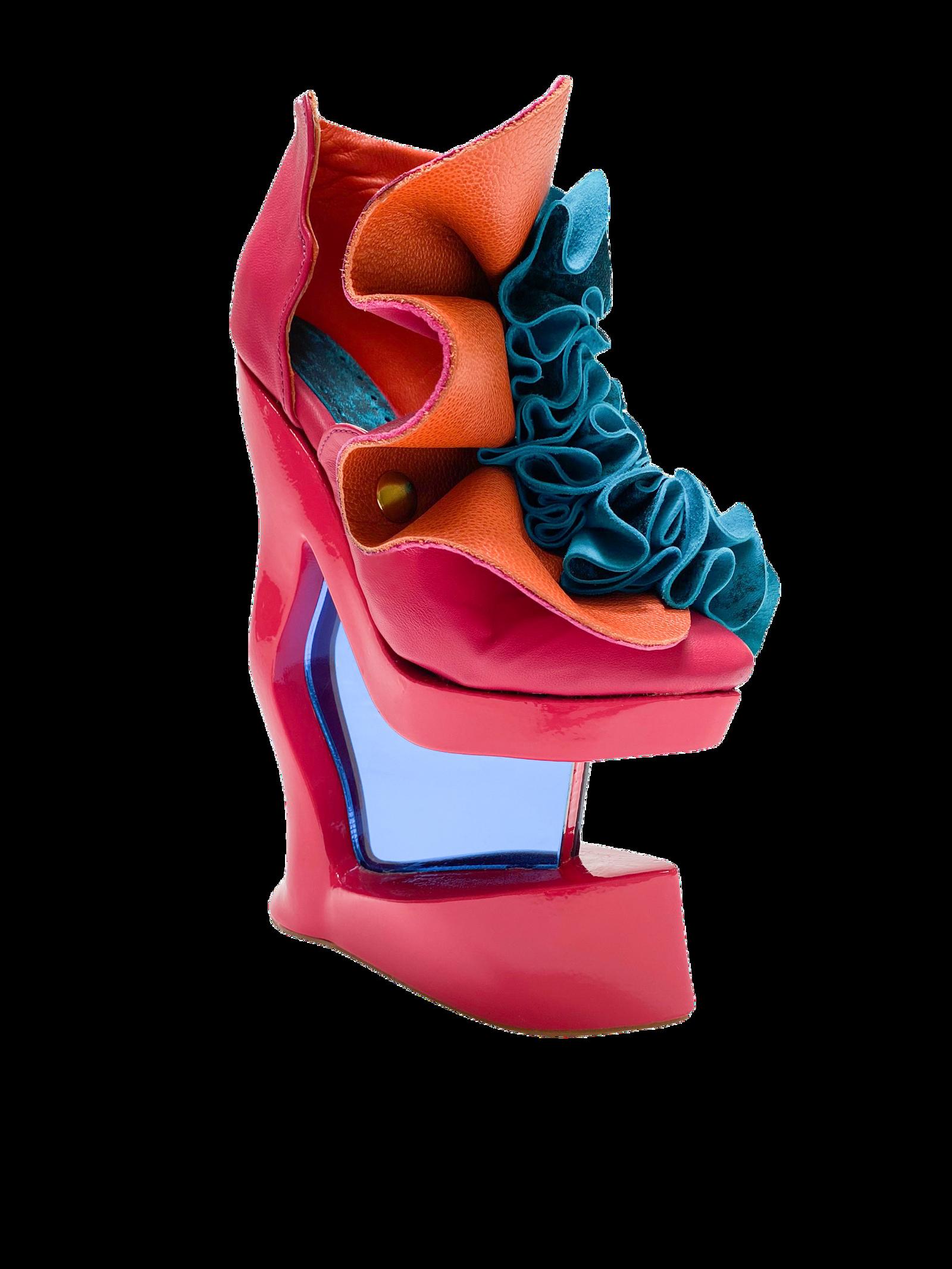 Footwear Shoes Pump 3d print