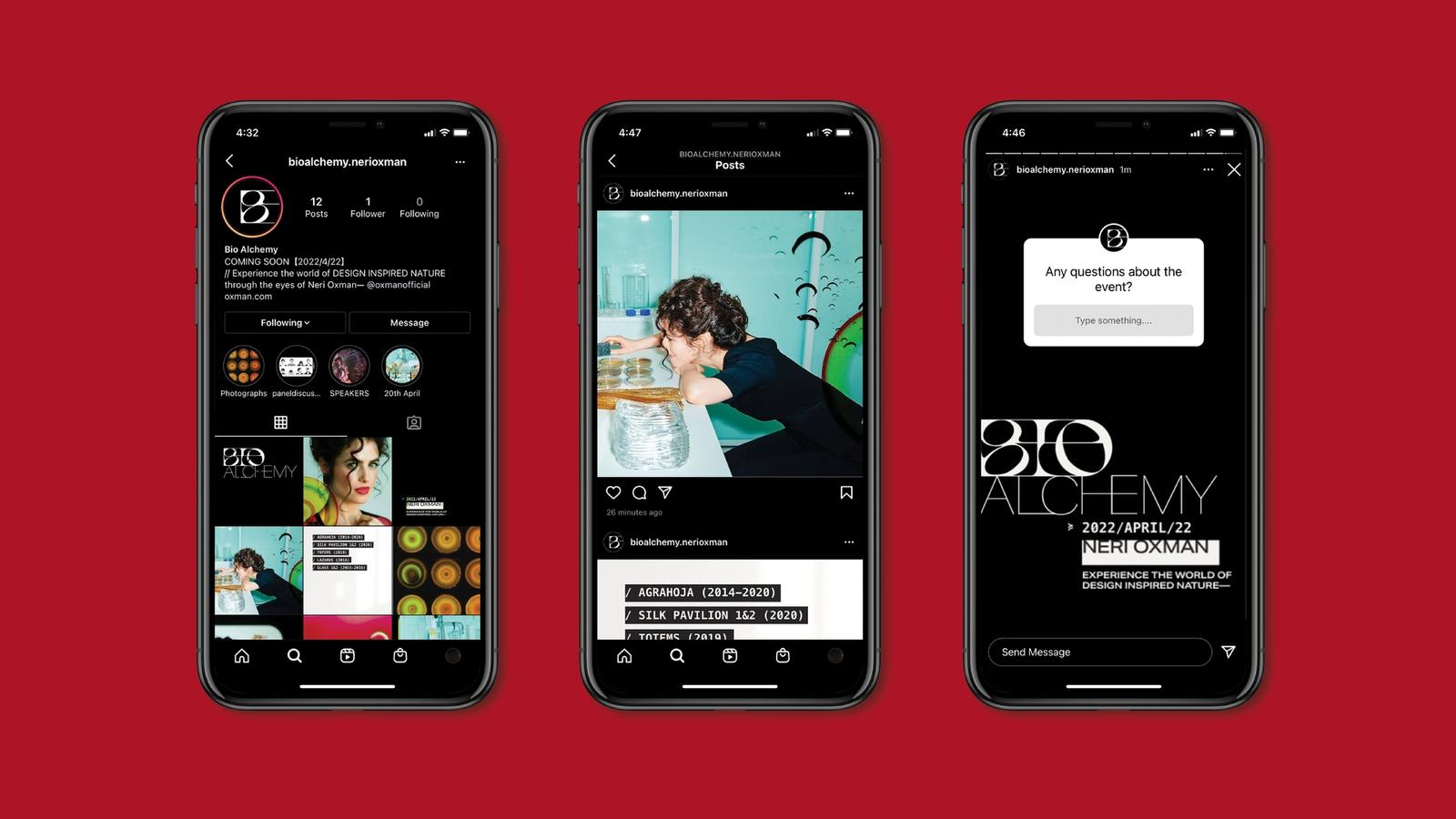 Bio Alchemy // Mobile Application