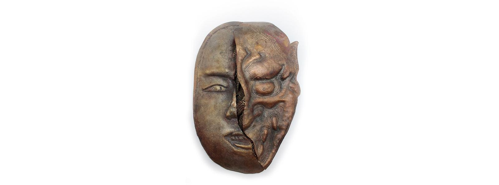 A piece that indicates how negative emotions can turn a human into a monste