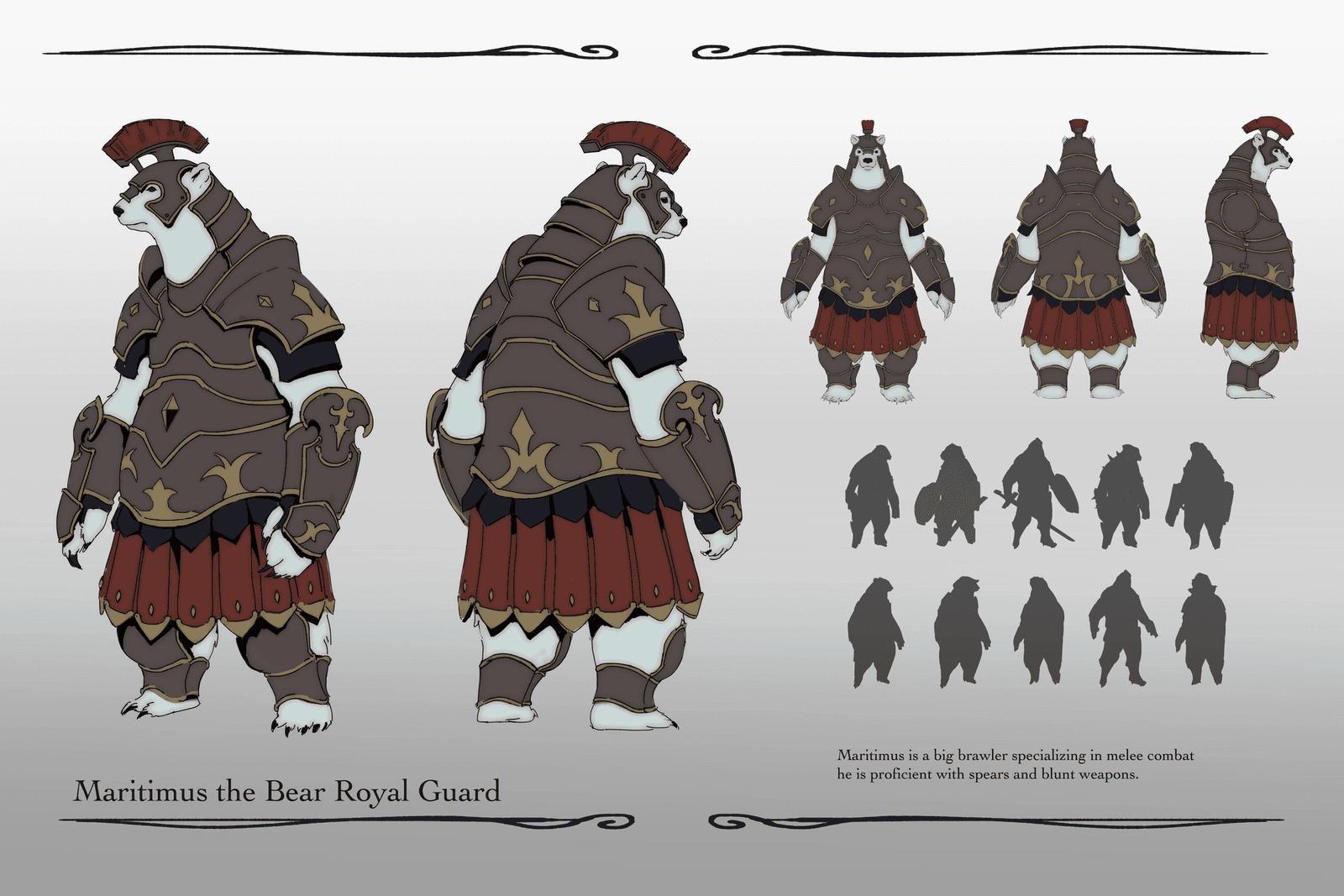 Maritimus the Bear Royal Guard