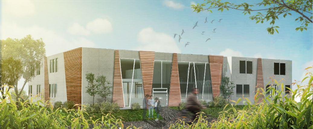 New Hope Community Center - Exterior View