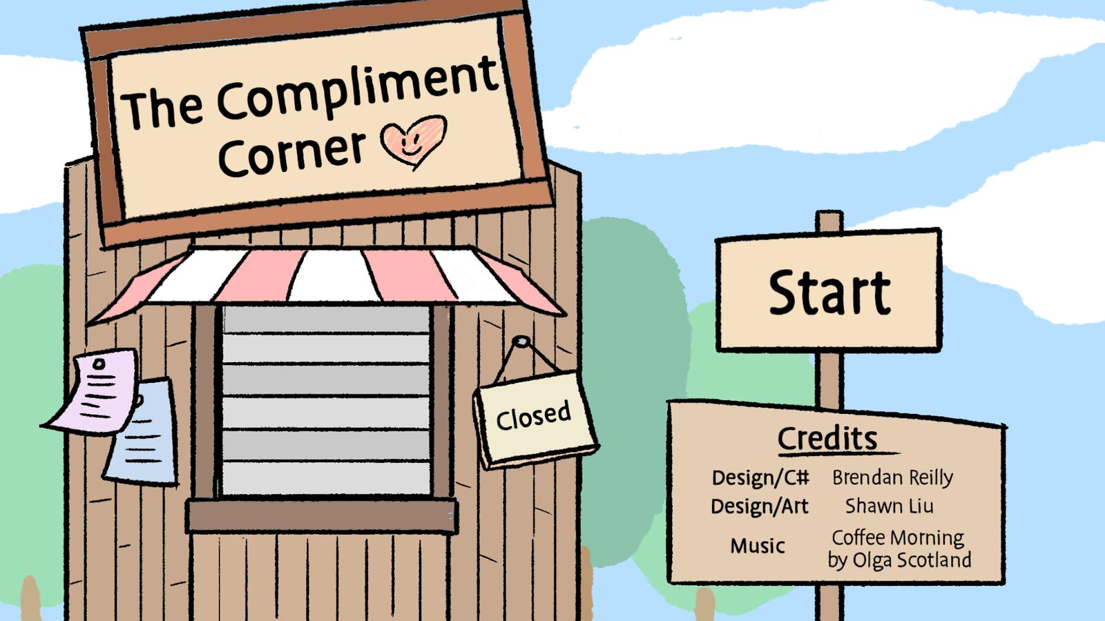 The Compliment Corner - Screenshot 01