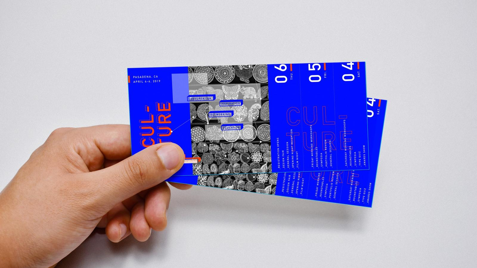 AIGA Conference // Event Ticketing