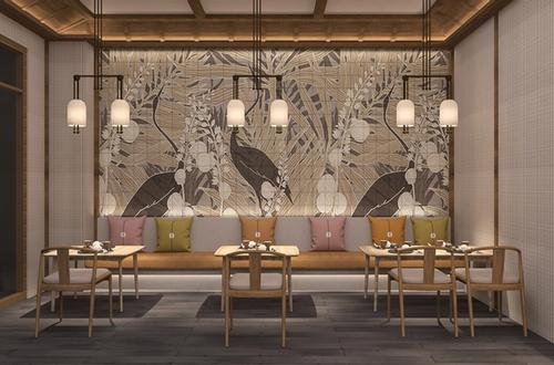 Jikan Galleria - Restaurant Focal Wall